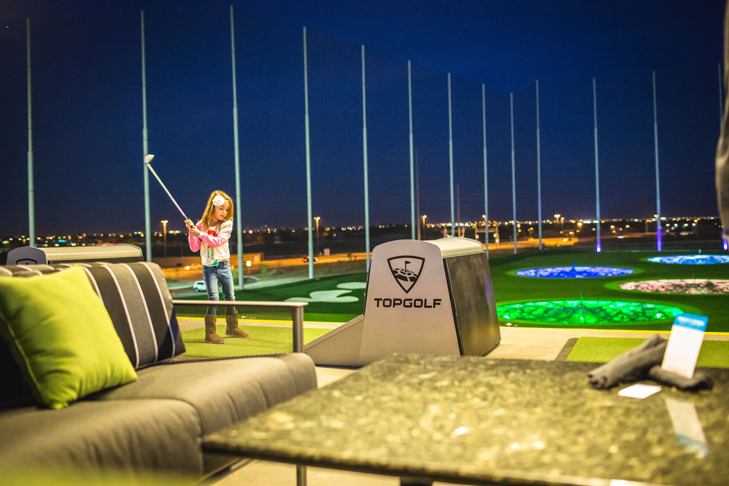 Family Fun at Top Golf in Gilbert