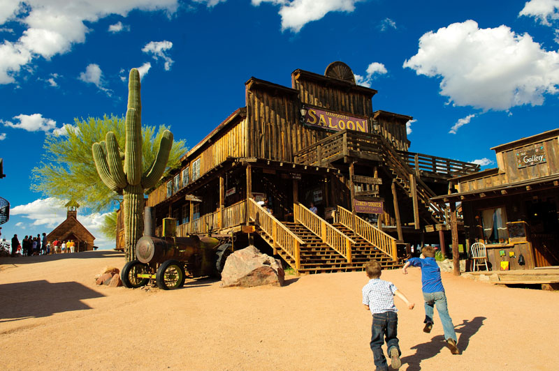 Goldfield Ghost Town photo credit Mesa CVB
