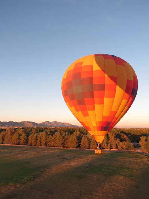 Hot Air Balloon Ride Over Queen Creek