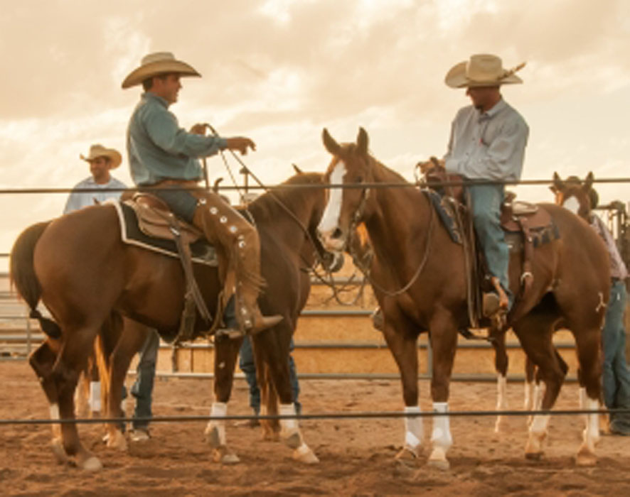 Queen Creek Cowboys on Horseback