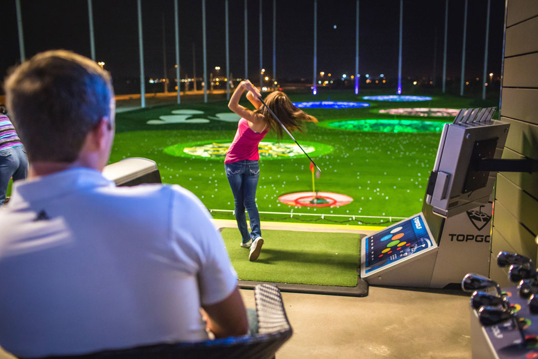 TopGolf in Gilbert Az