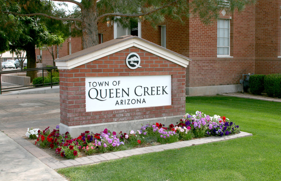 Welcome to town Queen Creek